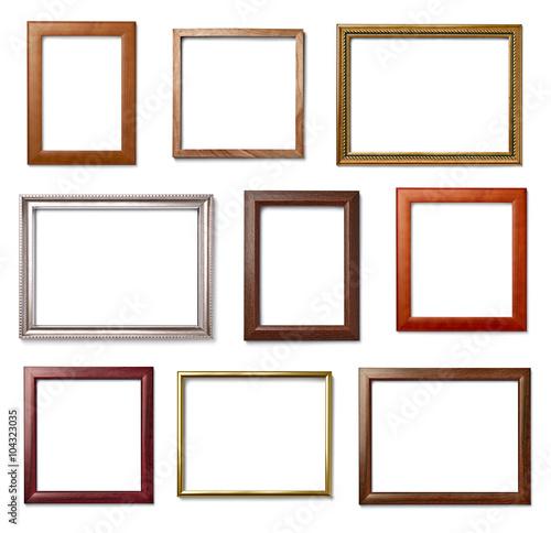 Fototapeta vintage frame wood background image obraz na płótnie