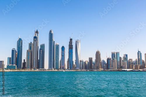 Photo  Dubai marina skyline