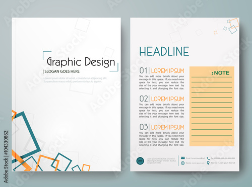Abstract Vectormodern Flyers Brochurecoverannual Reportdesign Templates Layout