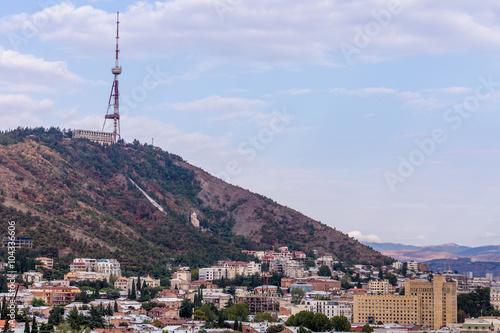 Poster Lieux connus d Amérique View to the center of Tbilisi