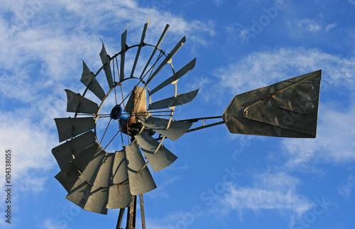 Fotografía  Windmill in Lusk Wyoming in the western USA