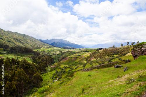 Peruvian landscape Cusco