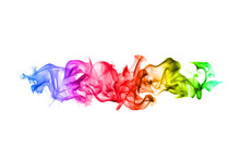 Abstract Colorful Flame Patter...
