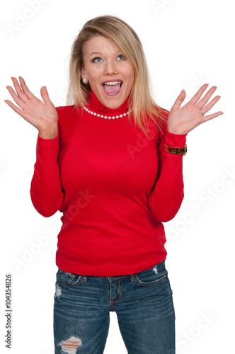 фотографія  Surprised Woman