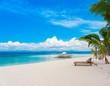 Philippines, tropical sea sunbed!
