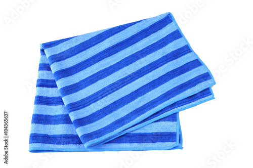 Fotografia  A beach towel isolated against a white background