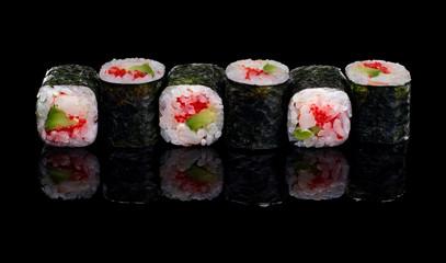 Obraz na Szkle sushi, rolls
