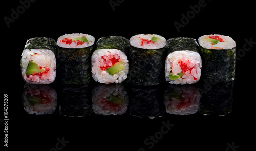 sushi, rolls - 104375209