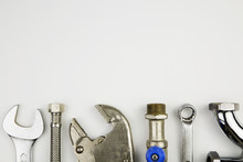 Set Of Plumber Tools / Overhea...