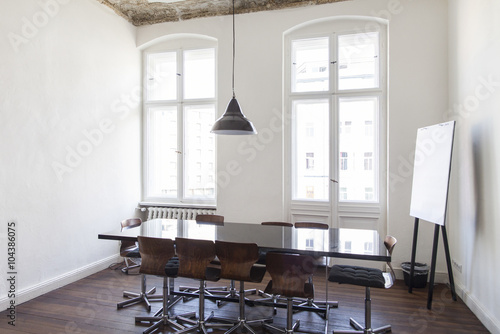 Spoed Foto op Canvas Aziatische Plekken Empty room in a modern office