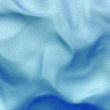 Abstract 3D Pale Blue Net Cloth Background