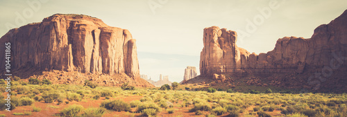 Spoed Foto op Canvas Cappuccino Monument Valley, Utah, USA