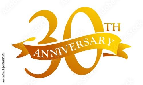Fotografia  30 Year  Ribbon Anniversary