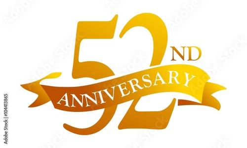 Fotografia  52 Year  Ribbon Anniversary