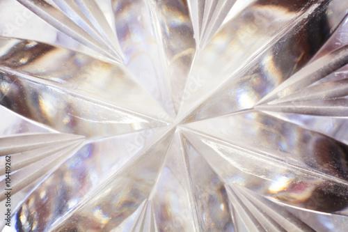 Fotografie, Obraz  Clear Crystal Glass