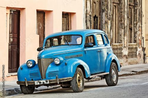 Photo  Cuba, Havana, Vintage Car