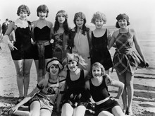 Group Of Female Friends At The Beach