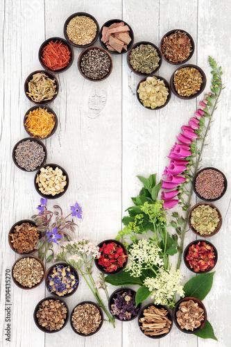 fototapeta na drzwi i meble Naturopathic Medicine