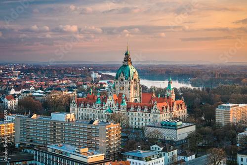 Rathaus in Hannover, Deutschland