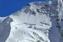 Sheer North Face Of The Matterhorn