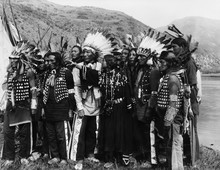Group Of Native Americans In T...