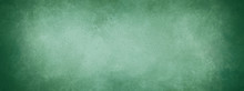 Green Background, Christmas Background Color With Vintage Texture Design