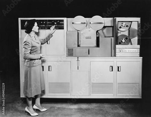 Foto  1950's COMPUTER