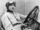 Portrait of female driver  - 104459054