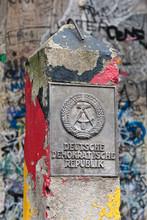 DDR Border Marker, East Berlin...