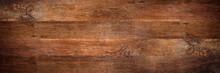 Wide Rustic Old Oak Wooden Bac...
