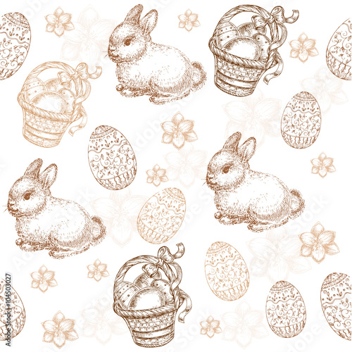 seamless-pattern-easter-eggs-and-easter-bunny