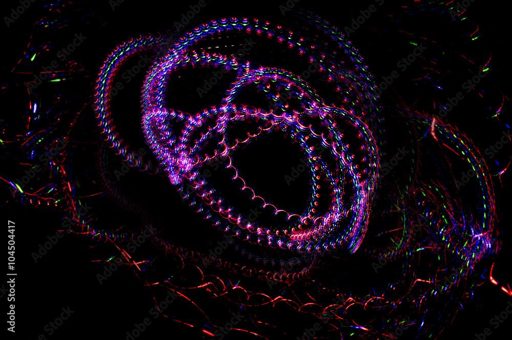 Fototapety, obrazy: Espirales de luz