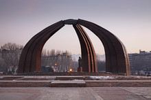 Monument Of Victory In Bishkek...