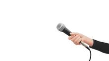 Mano Con Microfono