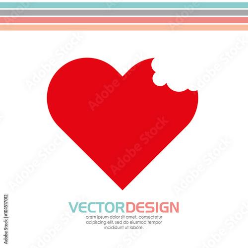 Fotografía  heart love design