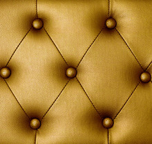 Gold Upholstery Leather Background