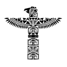 Ancient Black Totem
