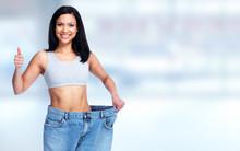 Slimming Woman Wearing Big Pan...