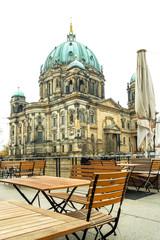 Fototapeta na wymiar Berlin Cathedral Church