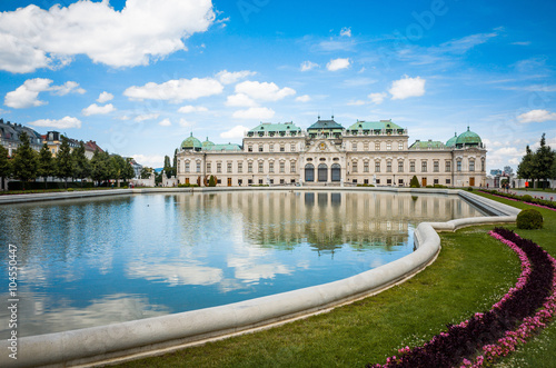 Photo  Belvedere is a historic building complex in Vienna