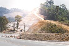 Renovate Road Pass Thru The Mountain