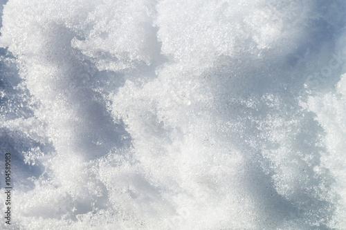 Stickers pour portes Eau Natural snow background