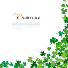 St Patrick's Day Background. V...