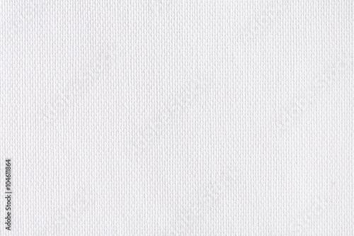Fototapeta White canvas texture close-up.