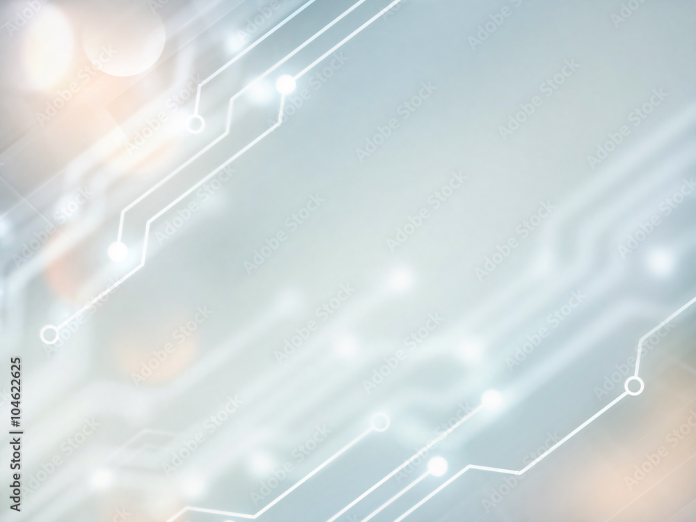 Fototapeta high tech background