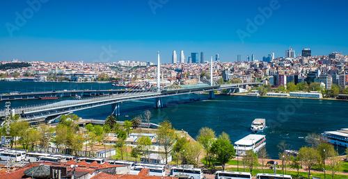 Foto  Istanbul the capital of Turkey, eastern tourist city.