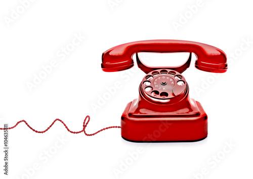 Foto  Rotes Telefon