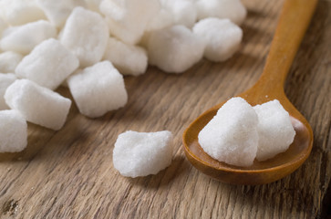 Fototapeta na wymiar white sugar