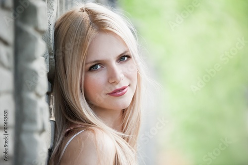 Fotografie, Tablou  blonde face