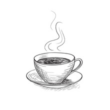 Cup Of Coffee. Coffee Break Icon.